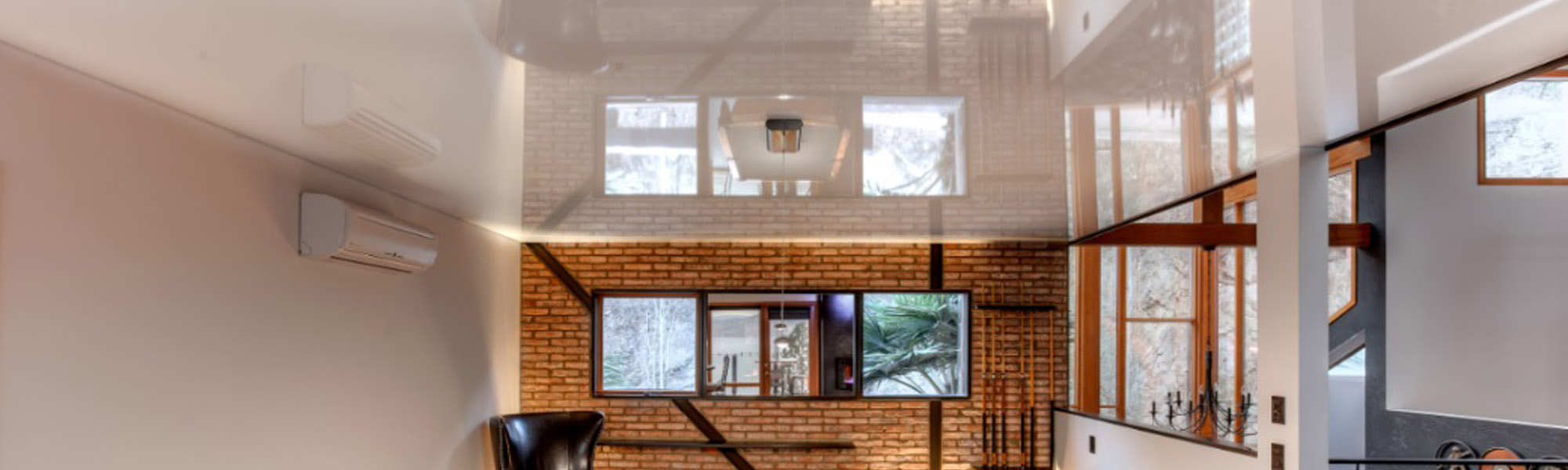Features of the choice of stretch ceilings 85
