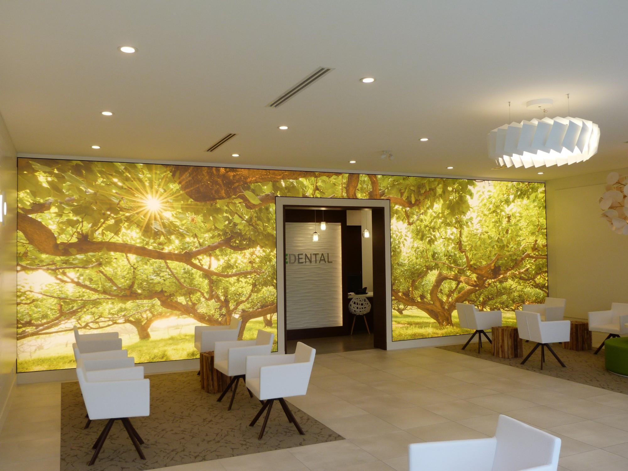 Contemporary Illuminated Wall Art Illustration - Art & Wall Decor ...